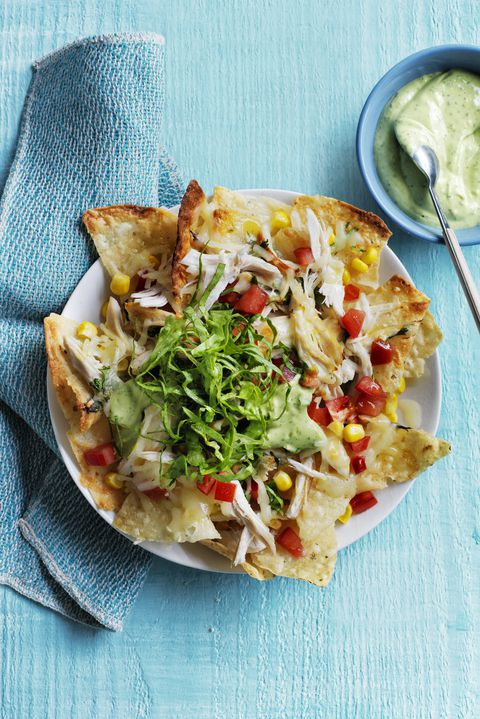 עמוס Chicken Nachos Recipe