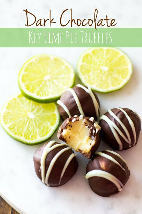 अंधेरा chocolate key lime pie truffles