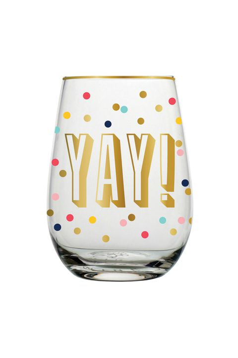 יש! Stemless Wine Glass