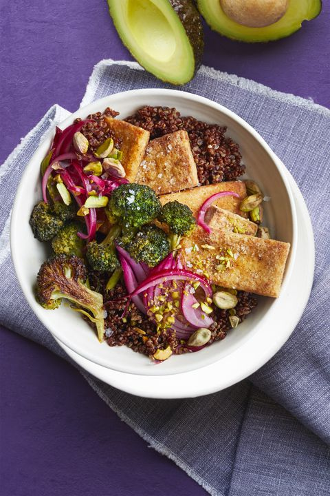 tofu broccoli bowl