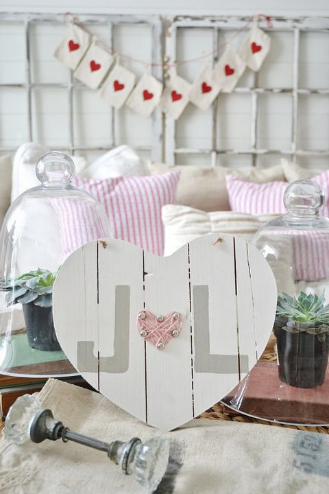 drven heart decor