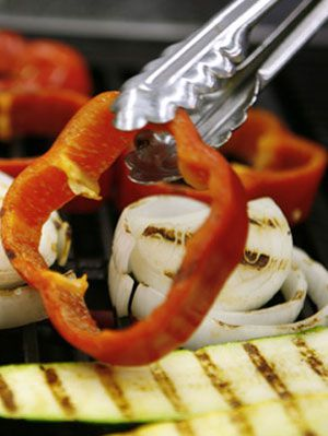 kako to grill vegetables