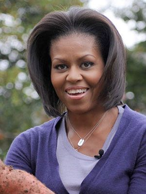 Michelle Obama's hairstyle
