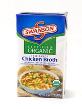 נמוכה נתרן vegetable or chicken broth