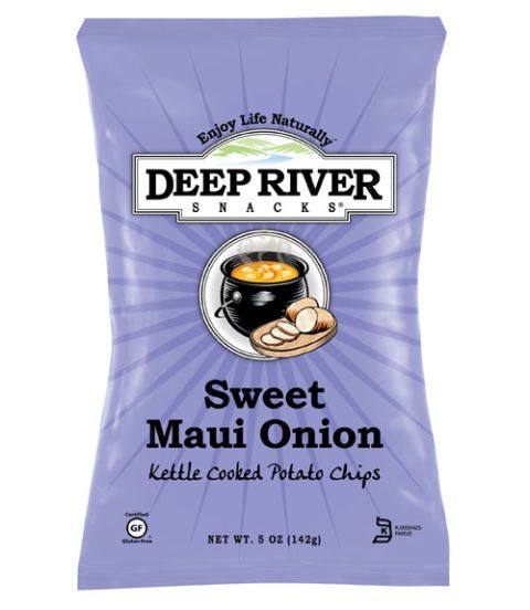 Γλυκός Maui Onion, Deep River Snacks ($2.99 for 5 oz)
