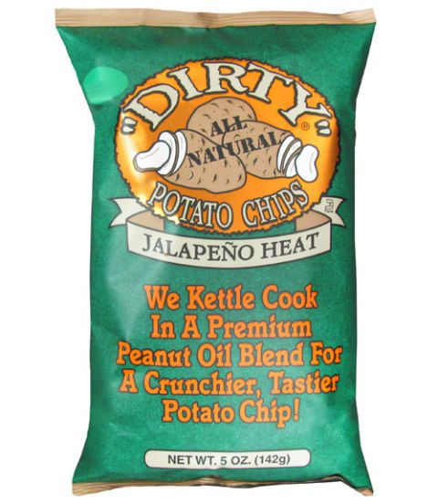 Jalape & ο Heat, Dirty Potato Chips ($2.29 for 5 oz)