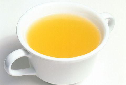zdjela of chicken broth
