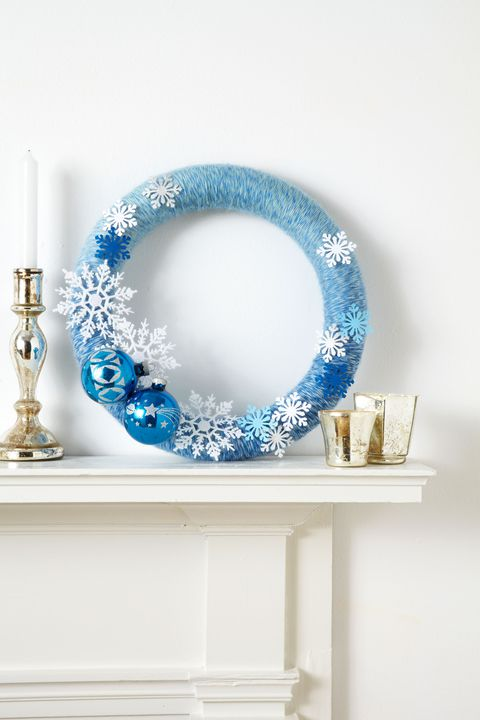 χειμώνας wonderland wreath
