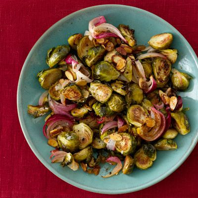 pečen brussel sprouts with browned butter