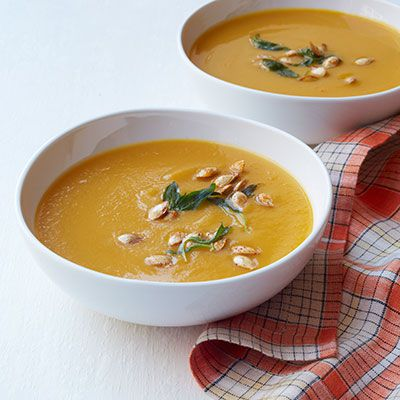 אבל לא squash and carrot soup