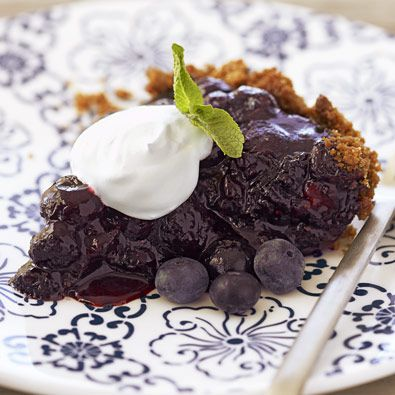 dvostruko blueberry pie
