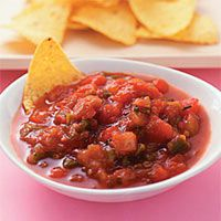 Linda beyer's super salsa (and chips)