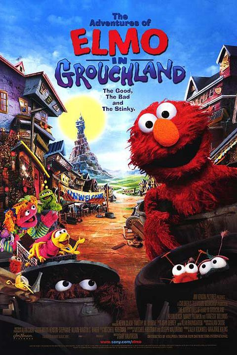 adventures of elmo in grouchland toddler movies