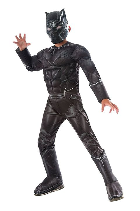 שָׁחוֹר panther superhero costume