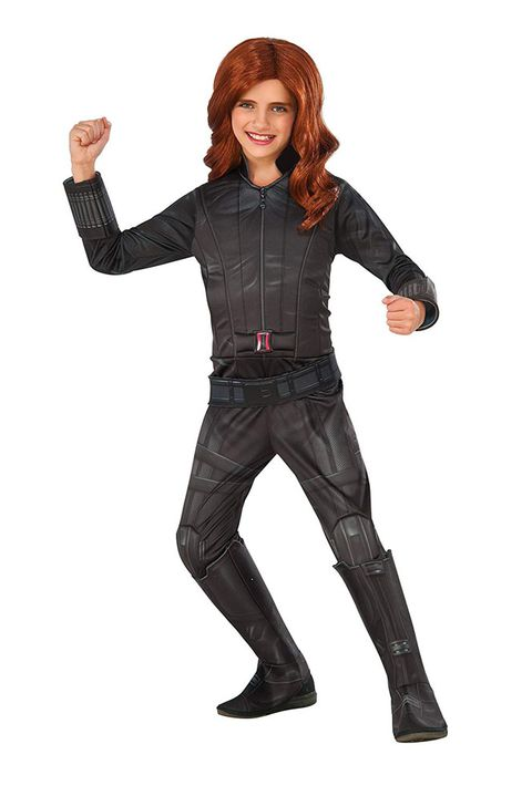 שָׁחוֹר widow superhero costume