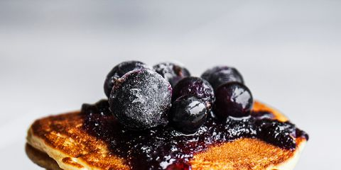 kućica Cheese Pancakes Blueberry Compote Kid-Friendly Breakfast Recipe