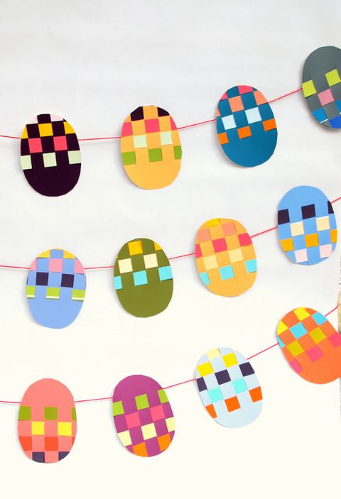 ארוגים paint chip easter banner