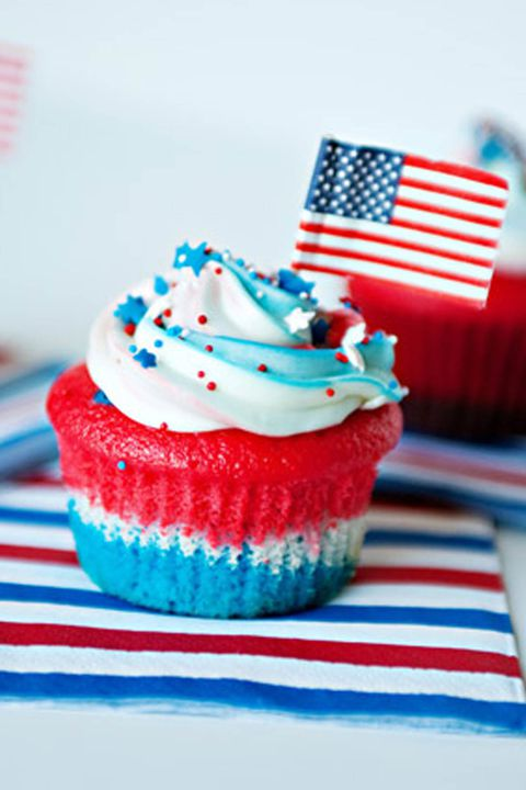 4ο of july cupcakes and cakes