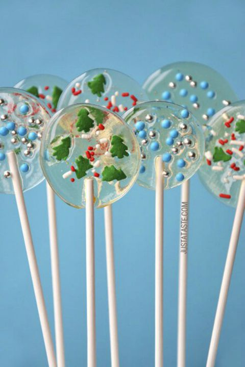 Σπιτικό Holiday Lollipops