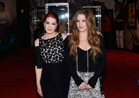 प्रिसिला Presley and Lisa Marie Presley