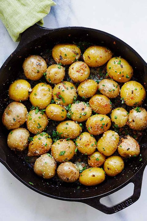 आलू recipes butter roasted potatoes