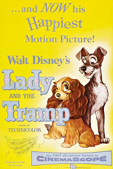 महिला and the tramp toddler movies