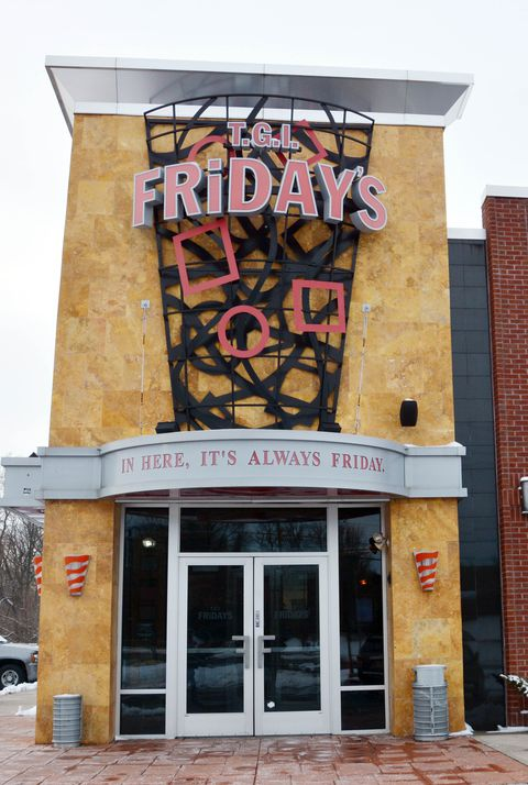 TGI Friday's restaurant open on Thanksgiving