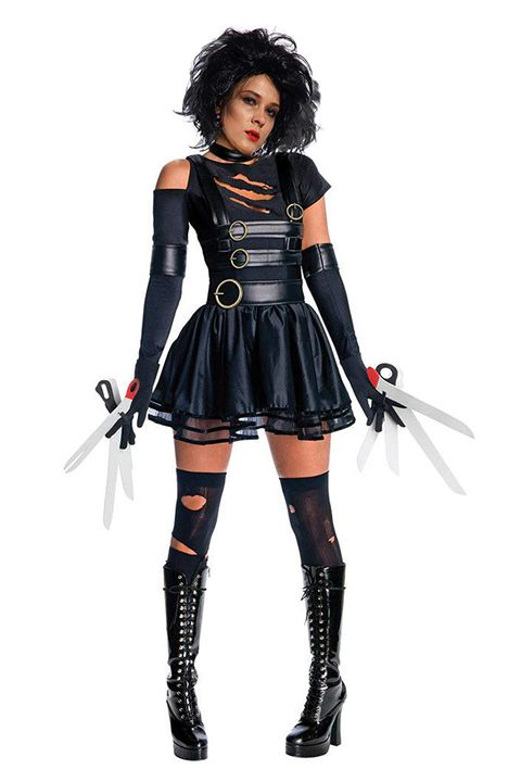 δεσποινίδα edward scissorhands womens halloween costume