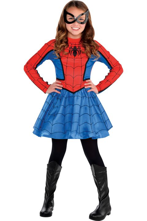 עַכָּבִישׁ girl superhero costume