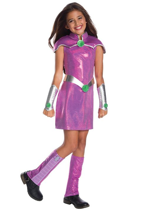 כוכב teen titans superhero costume