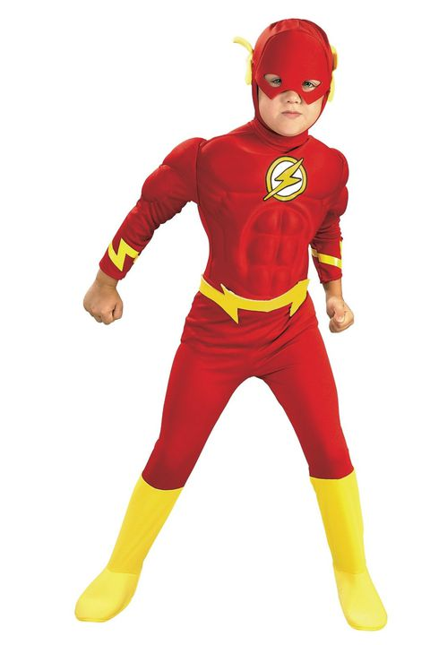 ה flash superhero costume
