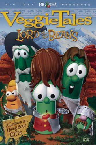 VeggieTales lord of the beans toddler movies